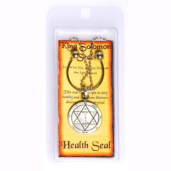 Key holder with Pewter Seal for Inc -Chain - Health