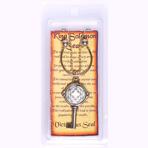Key-holder-with-Pewter-Seal-for-Inc--Chain---Victorious