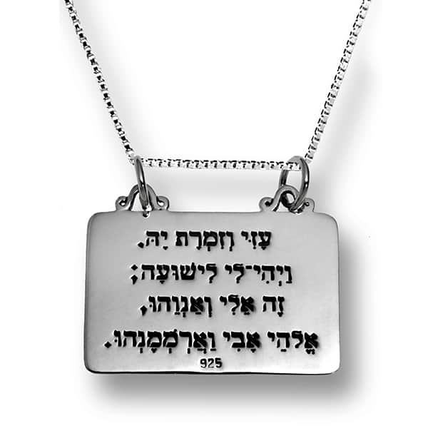 The-code-of-Moses-+-Chain-(silver-925)