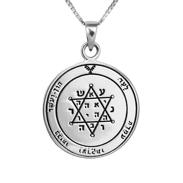 Tranquility & Equilibrium silver Seal + chain (925)