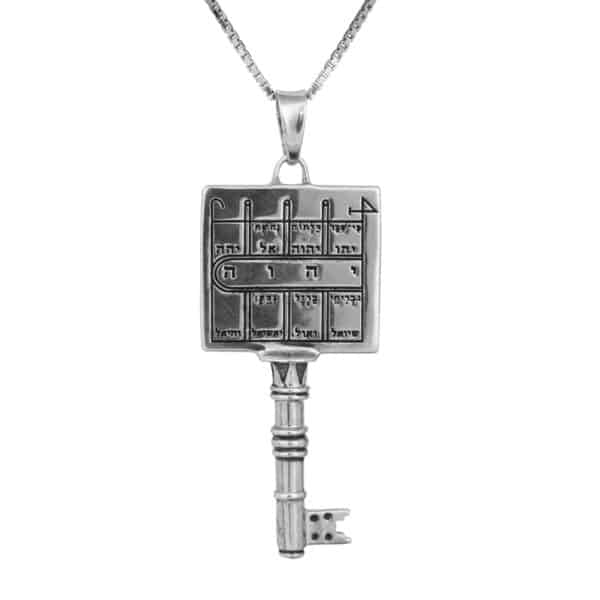 KING SOLOMON SEAL NO.20 -Paths clearing key+ Chain (925)