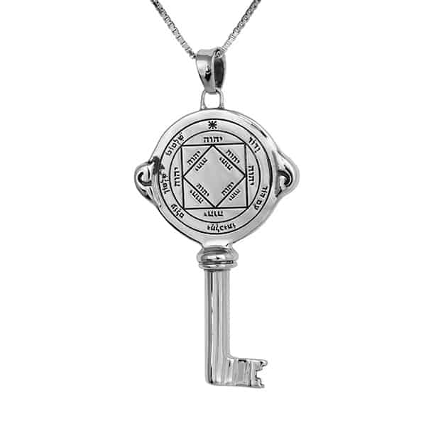Victorious-key-silver-Seal-+-chain-(925)