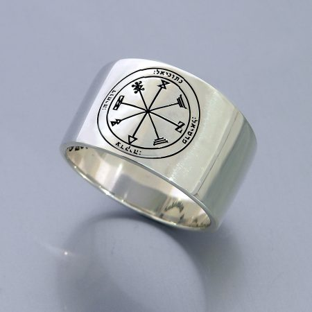 : Profusion Round Ring silver seal (925)